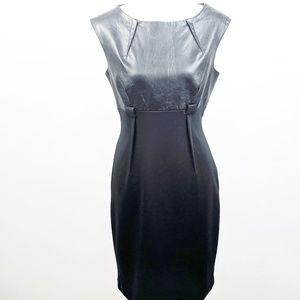 CALVIN KLEIN Vegan Leather Dress